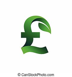 Pound sterling Green logo