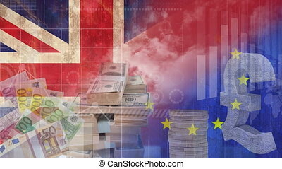 Pounds and euro Video