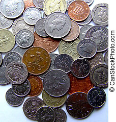 Pounds - British pounds and pennies