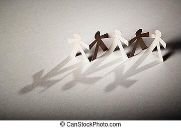 poupées papier
