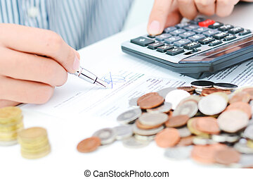 poupanças aposentadoria, conceito, plano, ou