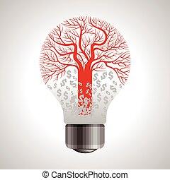 poupar, energia, ícones, barato, energia