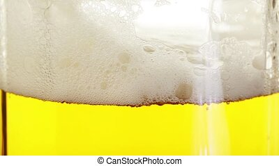 Pouring Beer In The Glass (Mug)