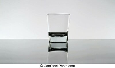 Pouring Water In Glass
