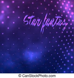 pourpre, fantasme, étoile
