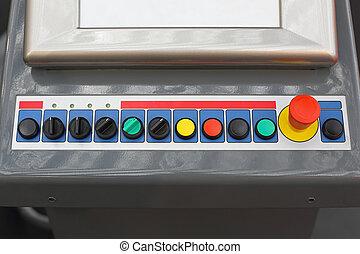 poussée boutonne
