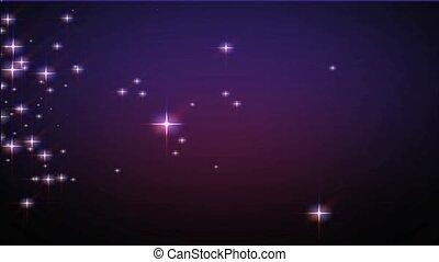 poussière, étoile