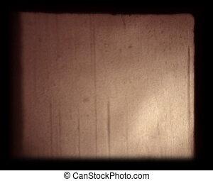 poussière, 8mm, pellicule