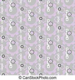 pouta, wallpaper., opakování, seamless, sloučit