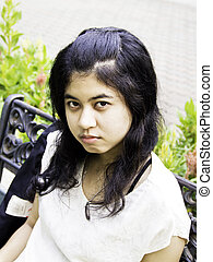 Pouting Girl