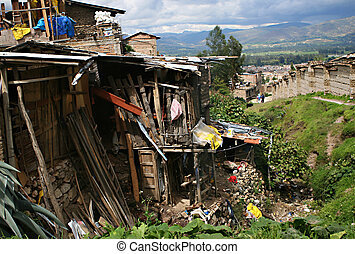 Poverty House - A typical house in Peru