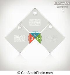 povolání, infographics, vektor, ilustrace, jako, prapor, pavučina konstruovat, infographic, presentation.
