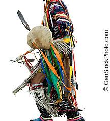 pow, norteamericano, wow, nativo