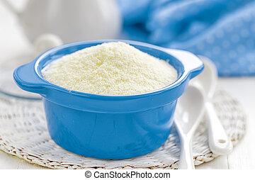 Powdered milk