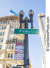 powell, calle, san francisco
