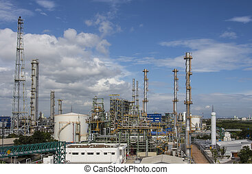 Power and Utility Factory - Power and Utility plant with...