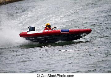power boat racing