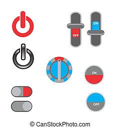 Power button icon designs