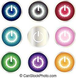 Power button set