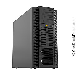 Power Computer, 3d illustration