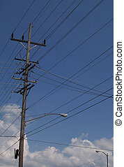 Power distribution - A look at part of the amazing power ...