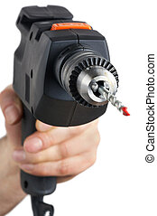 power drill with clipping path included - Bohrmaschine mit...