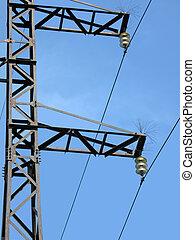 power electrical line pylone, energy