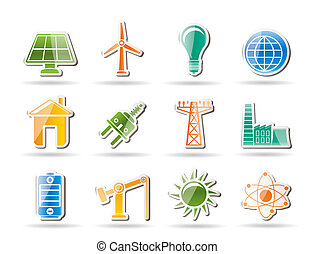 power, energy and electricity