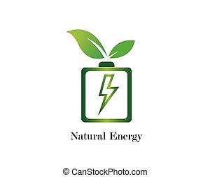 power energy illustration
