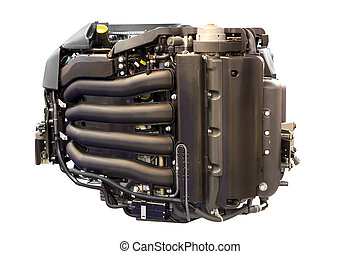 power engine for yacht