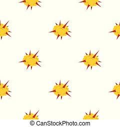Power explosion pattern seamless