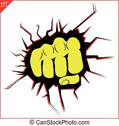 power fist mma, karate, boxing logo - taekwondo karate mma...