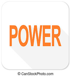 power flat icon