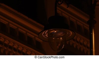 Power Fluctuations Street Lamp - Energy fluctuations on a...