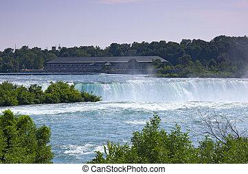 Power Generating Station at Niagara Falls Ontario - Rankine...