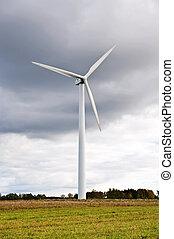 Power generating windmill