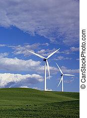 Power Generating Windmills - Stark White Electrical Power ...