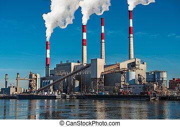 Power generation factory Generating Station
