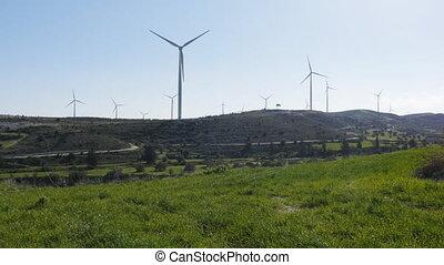 Power generation wind farm, eco power
