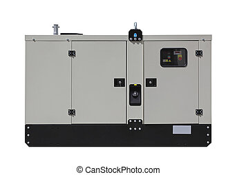 Power generator - Mobile diesel generator for emergency...
