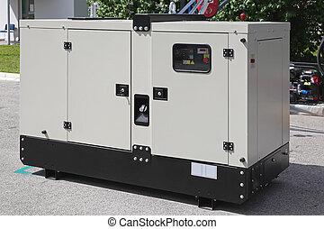 Power generator - Mobile diesel generator for emergency...