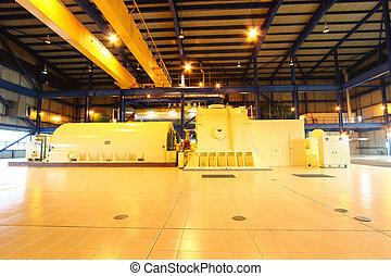 Power generator steam turbine
