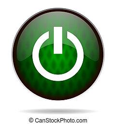 power green internet icon