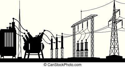 Power grid substation