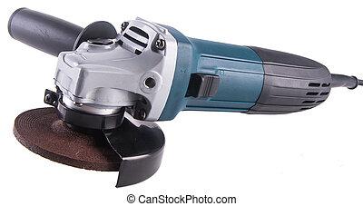 power grinder. power grinder on the background