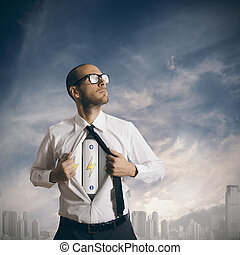Power in business - Concept of power in business with...