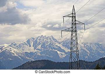 Power in the Alps