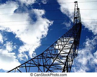power line - energy meets energy