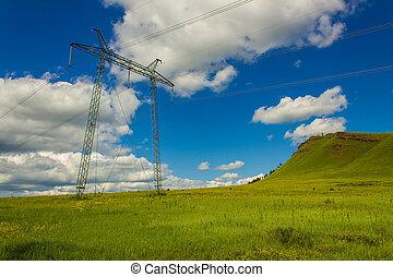 Power lines. 01