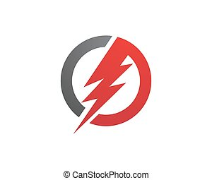 power logo template